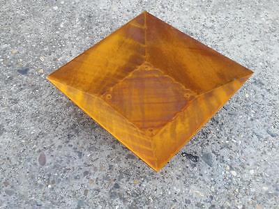 Schale Edelrost Pflanzschale Dekoration Blumenschale Rostschalen 30x30 Deko