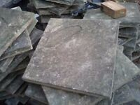 Approx 150 paving slabs 444mm x444mm. FREE