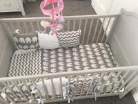 East coast nursery toulose cot bed