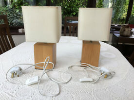 Pair of Bed Side Lamps