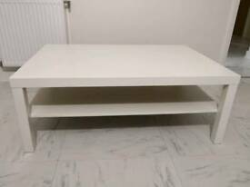 White Ikea LACK coffee table, great condition