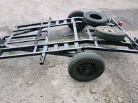 3 bike trailer for sale perfect working order
