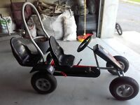 Kids Pedal Go-Kart,bicycles and John Deere Tractor