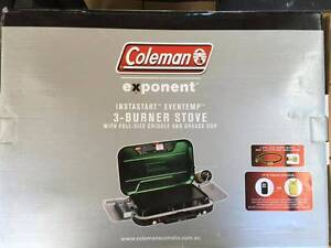 Coleman Eventemp Camping Stove with Griddle Duncraig Joondalup Area Preview