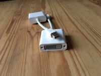 Genuine Apple Mini DisplayPort to DVI Adapter for Macbooks