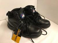 Brand New Men Work Shoes Steel Toe size 8