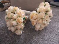 2 wedding/bridesmaid bouquets