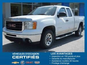 2009 GMC SIERRA 1500 4WD EXTENDED CAB SWB