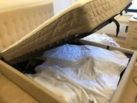 King-size bed in good condition