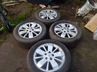 rims with tires for Renault Laguna