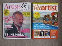 Artists & Illustrators magazines