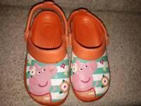 Peppa pig sandals size 11