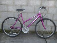 ladies pink bike 26'' classic