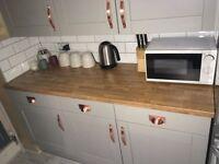 Laminate Kitchen Worktop Colmar Oak 40mm