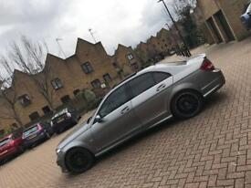 MERCEDES C250. PANROOF AMG PACK. NOT AUDI S3 BMW 3 SERIES GOLF GTI GTD R MERCEDES
