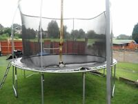 12ft trampoline in good cond