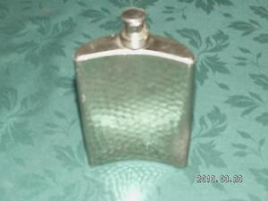 Old Chrome coloured Flask Cornwall Ontario image 3
