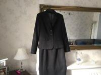 Ladies dark blue suit size 12