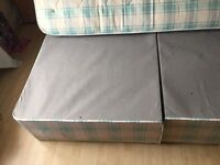 Double bed and mattress for sale , good codition, 30pound , 0