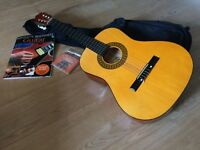 Small guitar for sale, with extras - great condition, perfect for a first instrument.