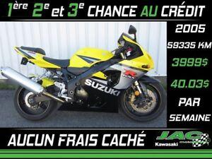 2005 Suzuki GSX-R750 Défiez nos prix