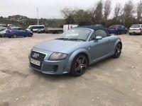 Audi TT convertible 3.2 petrol. 12 months mot