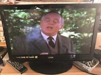 Logic 22in hd ready Tv/DVD combi
