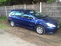2004 Peugeot 307 2.0 HDI Estate Mot March 2018 Starts Drives Bargain