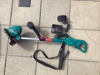Bosch Gardeb strimmer (battery operated)