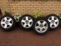 Audi TT 5x100 alloys and tyres