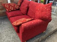 Red sofa bed. Can deliver.