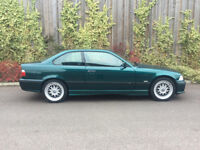 1998 R.REG + BMW 328I M SPORT 2 DR COUPE+ GENUINE + LOW MILES + 86K WITH SERVICE HISTORY