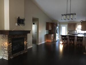 Three Bedroom Main Level in Sylvan Lake with Double Car Garage