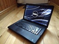 Dell Inspiron Laptop with a 250Gb SSD hard drive & a Clean windows installation