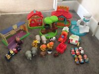 Little people and Peppa Pig Toys