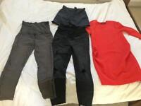 Size 10 12 maternity bundle New Look and H&M