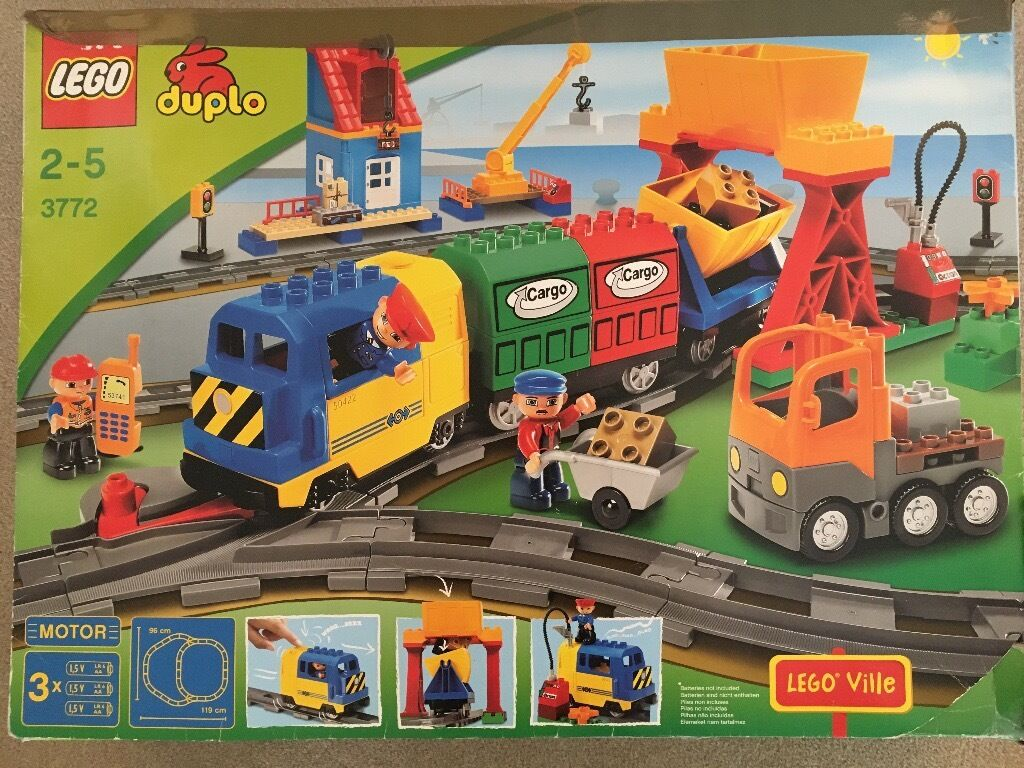 Lego Duplo Train Set 3772 Part Of The Lego Ville