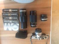 Olympus OM2 camera