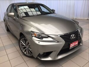 2014 Lexus IS 250 Luxury Navigation Package
