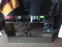 Glass front electric fire