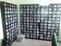 CD Storage Towers [Ikea 'Benno']