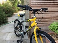 Child's bike. 12inch frame, 5 gears, all working as it should. Very good tyres and nearly new brakes