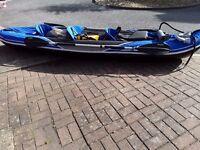 Sevylor hudson kayak 3 man