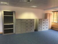 OFFICE FURNITURE CLEARANCE 4 DRAW FILING CABINETS