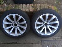 Bmw alloys, very good tyres