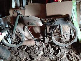 Vintage Retro French Motobecane z57c 125cc Motorbike Motorcycle - Motoconfort