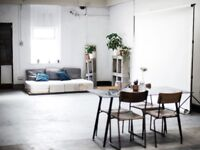 Natural Light Photography Studio in Bethnal Green