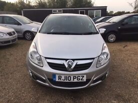 VAUXHALL CORSA 1.2 i 16v ENERGY HATCH* IDEAL FIRST CAR* LOW MILEAGE* FULL SERVICE HISTORY* HPI CLEAR