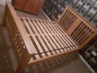 Oak Double 4ft6 Bed Frame