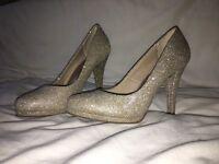 Prom Heels & Clutch Bag